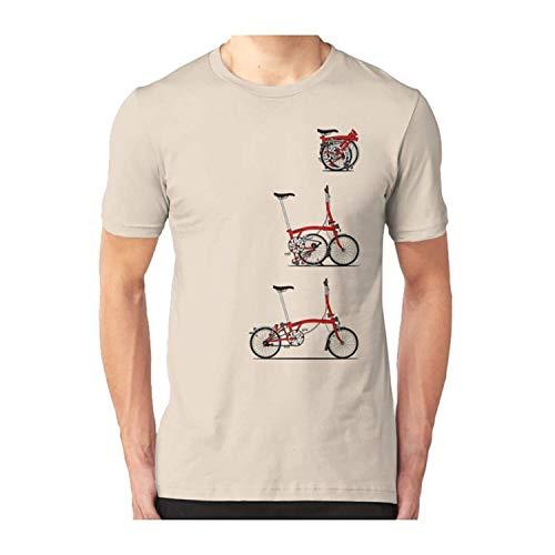I Love My Folding Brompton Bike Tshirt Classic T Shirt nbsp Premium, nbsp Tee nbsp Shirt, nbsp Hoodi DMN103 - Tshirt Black