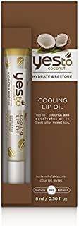 Yes to Coconut Hydrate & Restore Cooling Lip Oil 0.3 fl oz