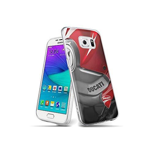 YuAPiNY Progettato per Cover Samsung Galaxy S6 Edge, Motivo Progettato Cover Protezione per Custodia, Protettiva Custodia per Samsung Galaxy S6 Edge YuC 007