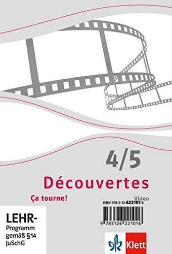 Ça tourne! Série jaune, Série bleueDVD-ROM, Filmsequenzen abgestimmt auf das Schülerbuch Band 4 und 5