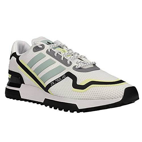 adidas Men's Zx 750 Hd Running Shoes Mens Fv2875 Size 13 White//Black 🔥