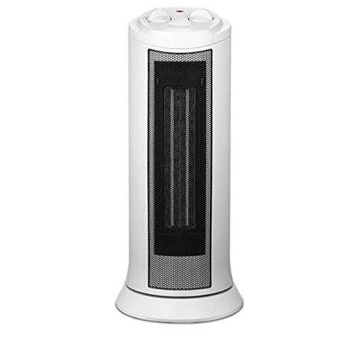 JINBAO Calentador Que se Cae Apagado Sobrecalentamiento Torre de Protección Cabezal de Sacudimiento Vertical Calentador Blanco 7.32 * 7.32 * 17.32 Pulgadas
