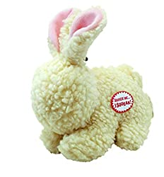Easter Toys For Dogs - Ethical Pets Fleece Rabbit Dog Toy.