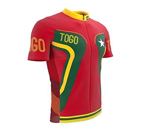 ScudoPro Togo Radsport Trikot mit kurzer Ärmel für Menner -