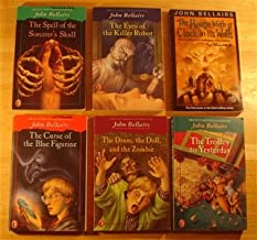 John Bellairs Johnny Dixon Boxed Set: The Trolley to Yesterday, House With a Clock in its Walls, Spell of the Sorcerer's S...