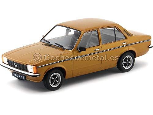 Opel Kadett C 4-Türer Limousine 1977 goldbraun, Modellauto 1:18 / Triple9