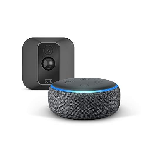 Nouvelle Blink XT2 Système à 1 caméra + Echo Dot (3rd Gen),...