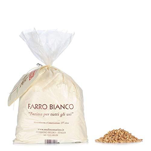 Farina Bio Di Farro Bianco 1 Kg - Mulino Marino