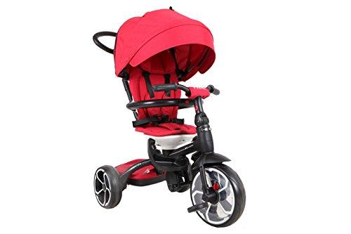 QPLAY - Prime Triciclo evolutivo 3 en 1, Color Rojo, QP100.05