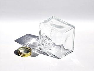 アッシュグレイ ハーバリウム用ボトル スクエア150cc 10個セット UDN-150A