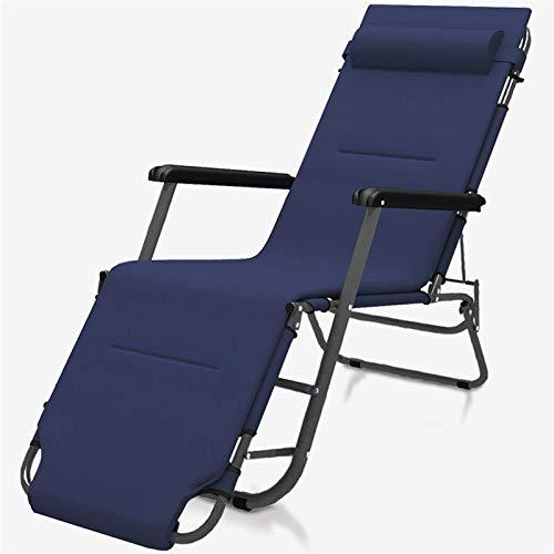 BJH Tumbonas y sillones reclinables de jardín, Muebles de Exterior Azul Marino,...