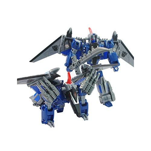 Transformers Model, 5 in 1 Transforming Toy King Kong Dinosaur Children Assembled Anime Model Boy Gift (Color : God of Dart)