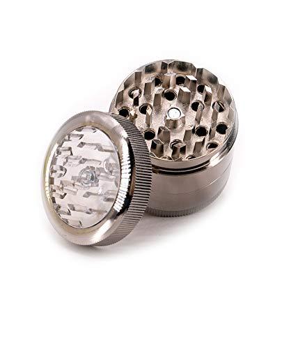 KickIt Grinder | zerkleinern | Aluminium | Mühle | Grinder Crusher | Kräuterm|Grinder ist 4-Teiligühle