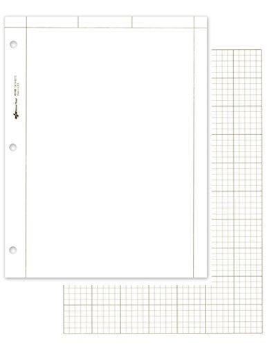 NATIONAL Marken-Rechenblock, einfarbig 100 Sheets weiß