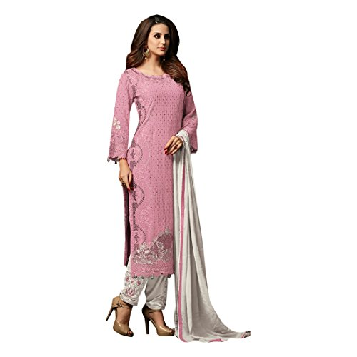 ETHNIC EMPORIUM New Indian Pakistani Straight Salwar Kamiz Kameez Suit Kurti Bollywood Girl Top Straight Pant Wedding Suit Georgette Damen Dirndl Hochzeit Frauen Party Women 2841