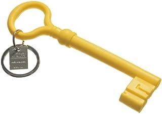 Areaware Key Keychain, Yellow