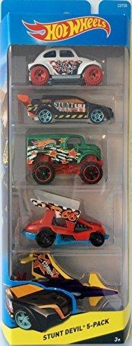 Hot Wheels, 2015 Off-Road Series, Stunt Devil 5-Pack by Hot Wheels