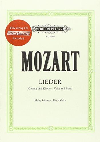 Lieder [50 ausgewählte]: für Singstimme und Klavier - Ausgabe für hohe Stimme