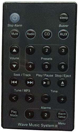 Ersatz Fernbedienung für Bose Wave Music System AWRCC1,2 Wave Radio II AWR1B1,2