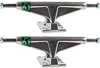 "Venture Trucks Polished High Silver Skateboard Trucks - 6.14"" Hanger 8.75"" Axle (Set of 2)"