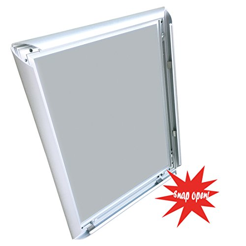 Aluminum Snap Frame for Poster 8.5 x 11 Inches, 25mm Profile, Color Silver Photo #6