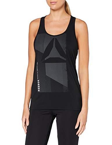 Reebok Ost AC Graphic Tank T-Shirt sans Manches Femme XXS Noir