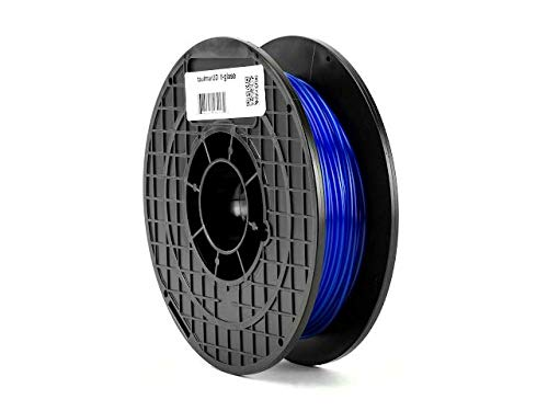 Blue Flexible 3D Printer Filament 1.75mm 1kg