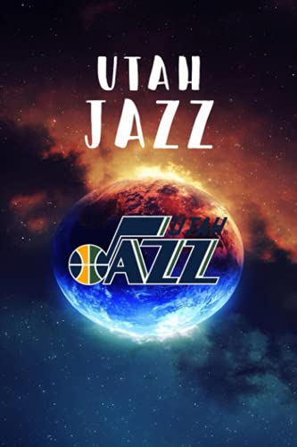 Let's Go Utah Jazz Sport Notebook With Logo Team NFL NBA MLB NHL