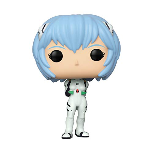 Funko- Pop Animation: Evangelion-Rei Ayanami Neon Genesis Collectible Toy, Multicolor (45119)