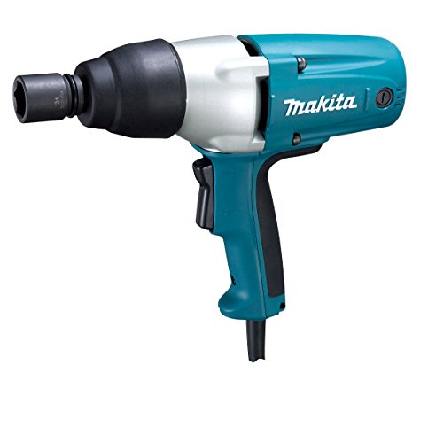 Makita TW0350 1/2' Impact Wrench w/ Detent Pin Anvil,Blue