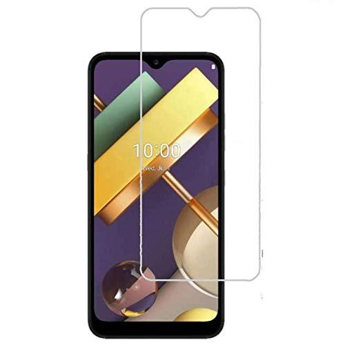 MB ACCESORIOS Protector de Pantalla, Cristal Templado con Pegamento Completo para LG K22