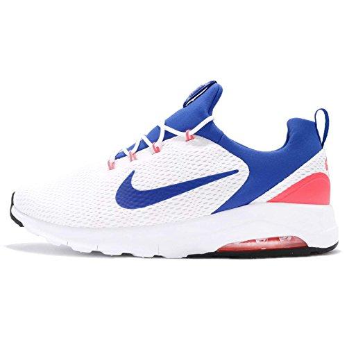Nike Air MAX Motion Racer, Zapatillas de Gimnasia para Hombre, Blanco Whiteultramarinesolar Re D O F 100, 40 EU
