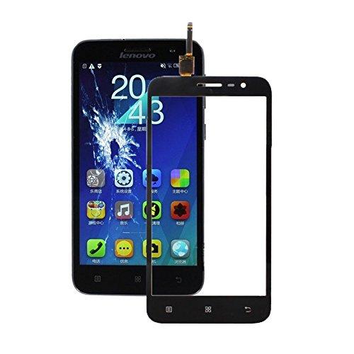 YANSHANG Repuestos para Smartphone Panel táctil for Lenovo A8 / A806 / A808T (Negro) Partes de refacción (Color : Black)