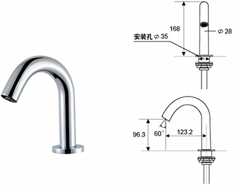 Gyps Faucet Waschtisch-Einhebelmischer Waschtischarmatur BadarmaturDas Gehuse Sensing Magnetspule D Tippen,Mischbatterie Waschbecken