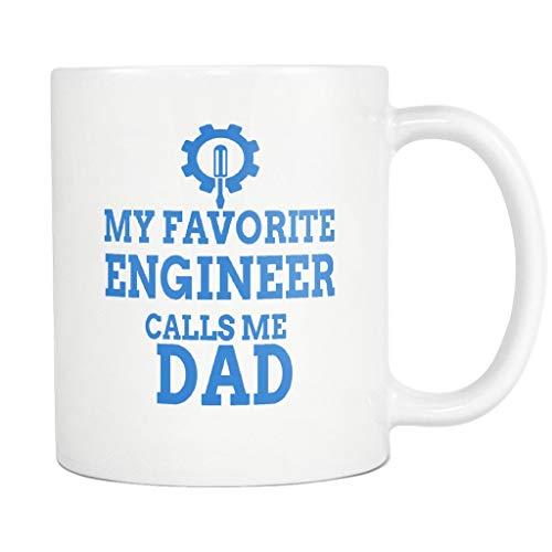Divertida taza de ingeniero, taza de café, mi papá favorito, regalo para el ejército eléctrico, química, mecánica, ingeniería civil, escuela, estudiante, jubilación, jubilado