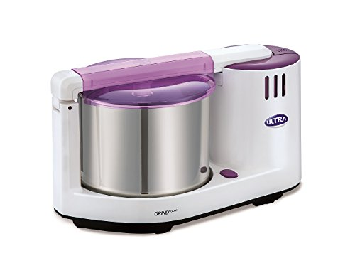 Elgi Ultra Grind+ Gold Table Top Wet Grinder, 2L (White/ Purple)