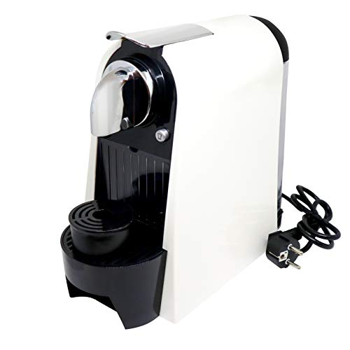 Tyrval Máquina de café Espresso Multicápsulas, Color Crema, 19 Bares de presión, con Capacidad para 1 litro, de Acero Inoxidable.