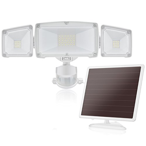 Solar LED Security Light, SOLLA Outdoor...