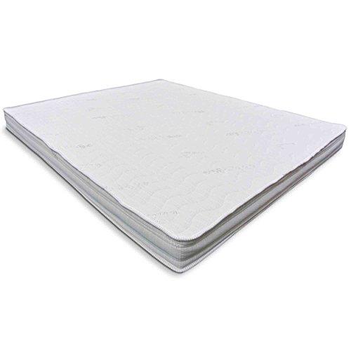 Baldiflex Materasso Matrimoniale 160x190 cm, Easy Silver Altezza 15 cm, Fodera in Silver Safe