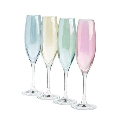 Set de 4 verre à champagne, Flûtes à champagne, collection\