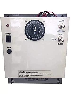 Agriculture solution Greenhouse DC Ventilation Motor Timing Controller 300W can Controller 1-4 Sets roll up Motor