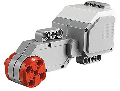 LEGO MINDSTORMS EV3 Large Servo Motor 1pieza(s) - Bloques de construcción para niños (1 Pieza(s), Rojo, Plata, 10 Año(s))