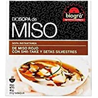 Biográ Sopa Miso Con Setas Biograminimo 3Un Biográ 200 g