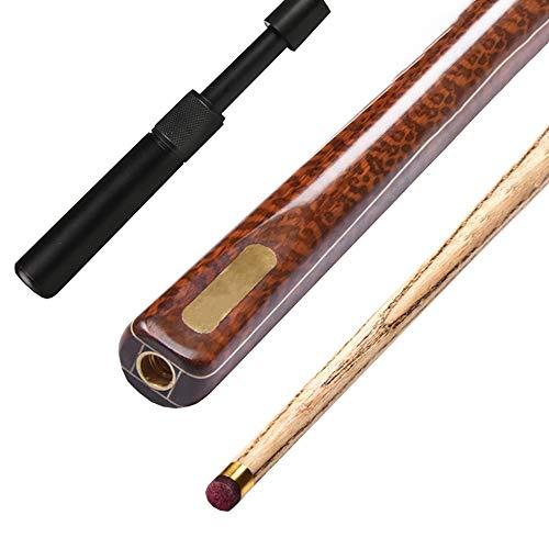 ZMg Ash wood Taco de Billar,57 Pulgadas 19 Oz 10mm Snooker Palos ...