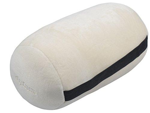 daydream: Nackenrolle mit Mikroperlen aus (weichem) elastischem Plüsch, ecru (N-8004)