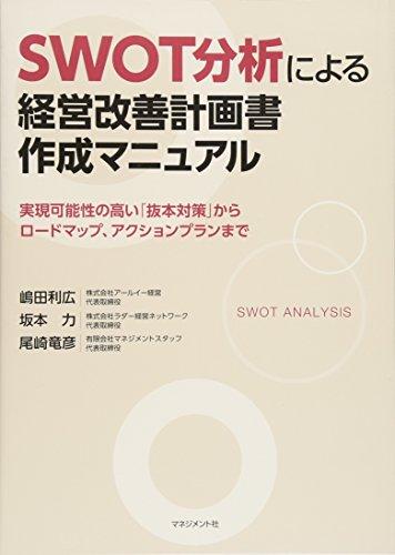 SWOT分析による経営改善計画書作成マニュアル