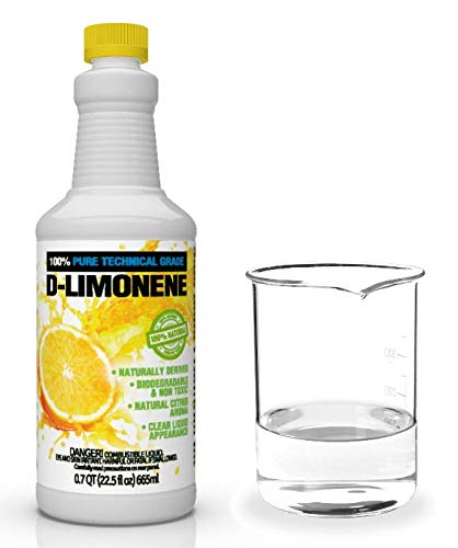 100% Pure D-Limonene Citrus Orange Oil Extract Best Natural Solvent Extracted from Orange Peels (Citrus Cleaner Degreaser & Deodorizer) (32 oz)
