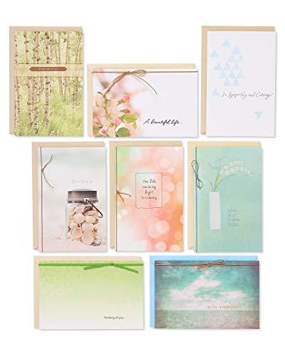 American Greetings Premium Sympathy Cards (8-Count)