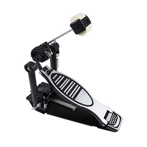 Bass drum pedal, load-bearing double-chain drum single step on hammer, step on hammer jazz drum pedal, step on mallet musical instrument accessories