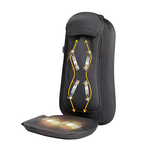 Back Massagers Massage Chair Back Cushion Massager Multi-Function Body Electric Massage Cushion Car Waist Massager Home Electric Massage Cushion Give Parents The Best Gift